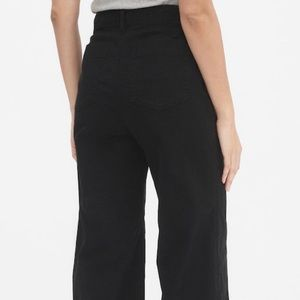 NWT Gap High Rise Wide Leg Crop